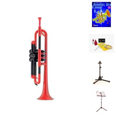 Trompetes de plástico