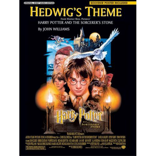 ALFRED PUBLISHING WILLIAMS JOHN - HEDWIG'S THEME - PVG