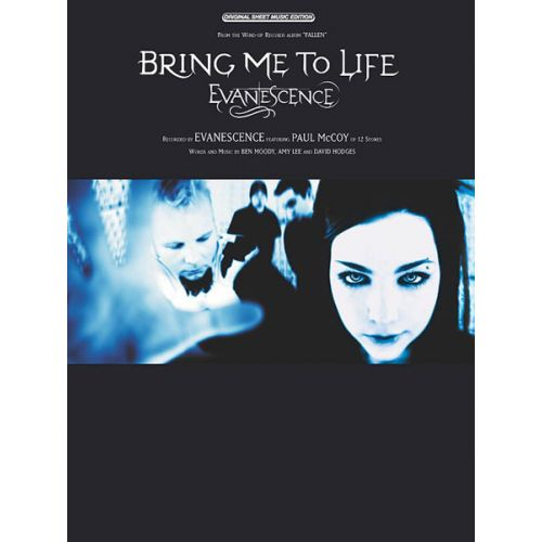 ALFRED PUBLISHING EVANESCENCE - BRING ME TO LIFE - PVG