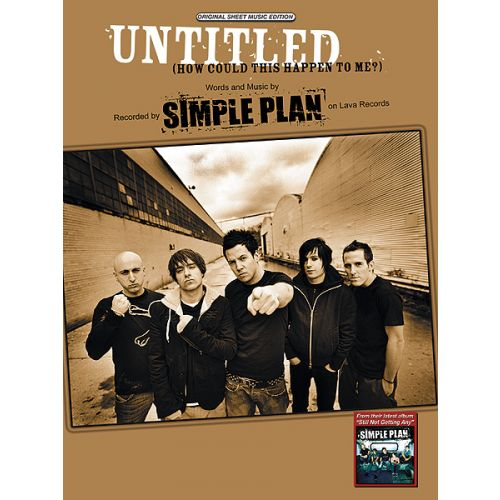 ALFRED PUBLISHING SIMPLE PLAN - UNTITLED - PVG