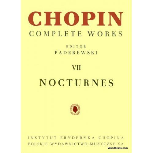 PWM CHOPIN FREDERIC - NOCTURNES (PADEREWSKI)