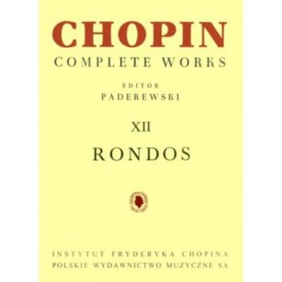 PWM CHOPIN FREDERIC - RONDOS (PADEREWSKI)