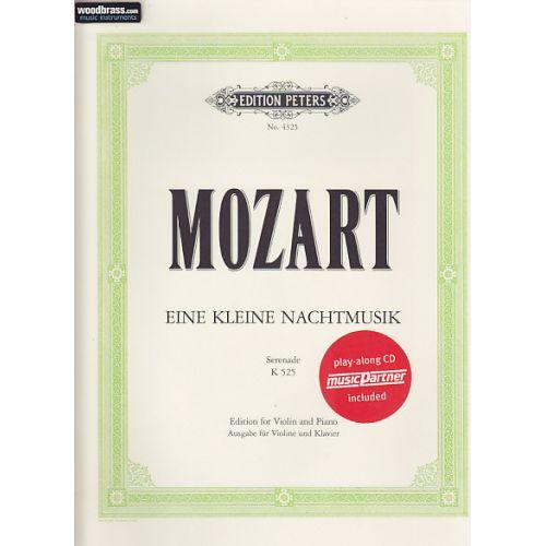 EDITION PETERS MOZART W. A. - Eine Kleine Nachtmusik (Serenade) K.525 - VIOLON & PIANO