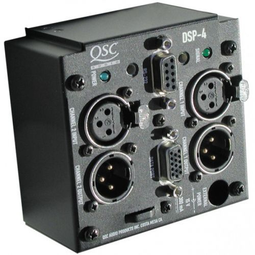 QSC DSP 4