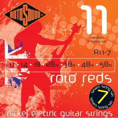 ROTOSOUND ROTO MEDIUM 7 STRINGS 11 14 18 28 38 48 58