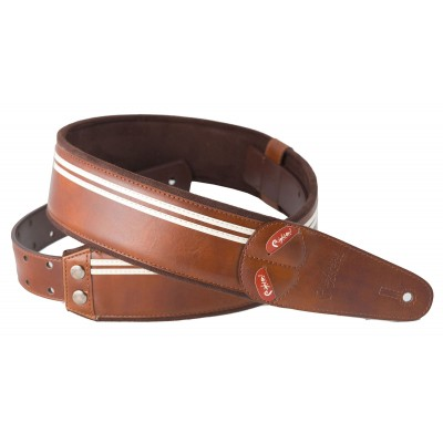 RIGHTON GUITAR STRAP RACE BROWN