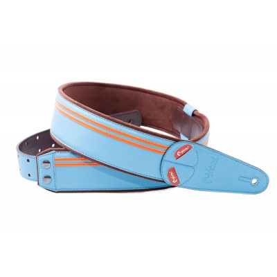 RIGHTON GUITAR STRAP RACE SONIC BLUE