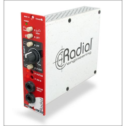 RADIAL JDX REACTOR - D.I. BOX