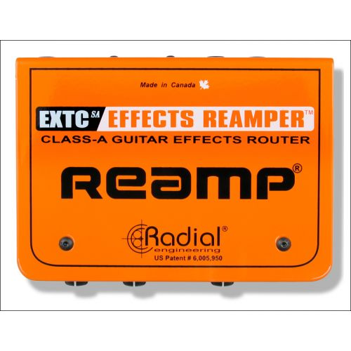 RADIAL EXTCSA GUITAR EFFECTS INTERFACE