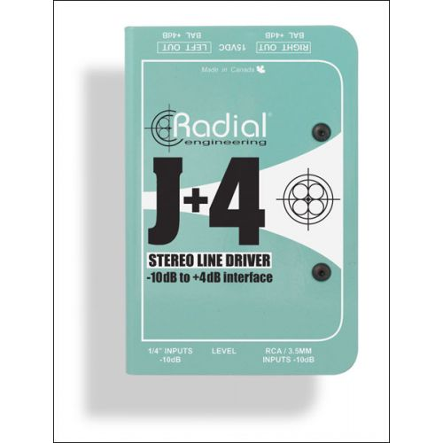 RADIAL J+4 LINE LEVEL PREAMP