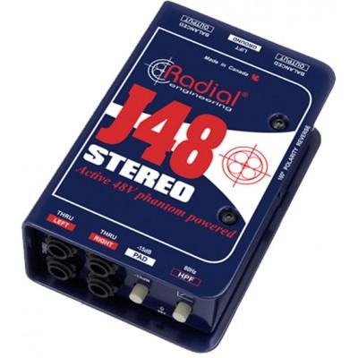 RADIAL J48 DI ACTIVE STEREO