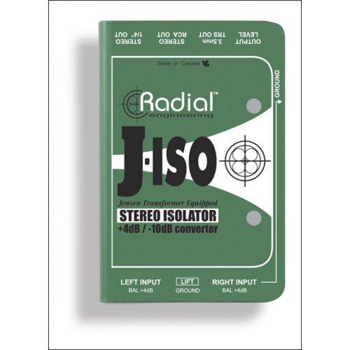 RADIAL J-ISO STEREO CONVERTER