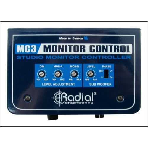 RADIAL MC3 MONITOR CONTROL