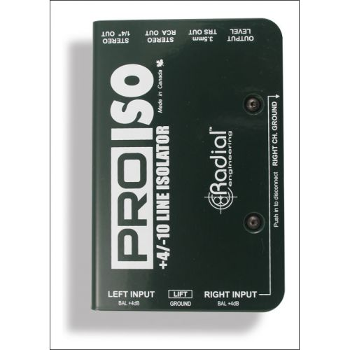 RADIAL PRO ISO