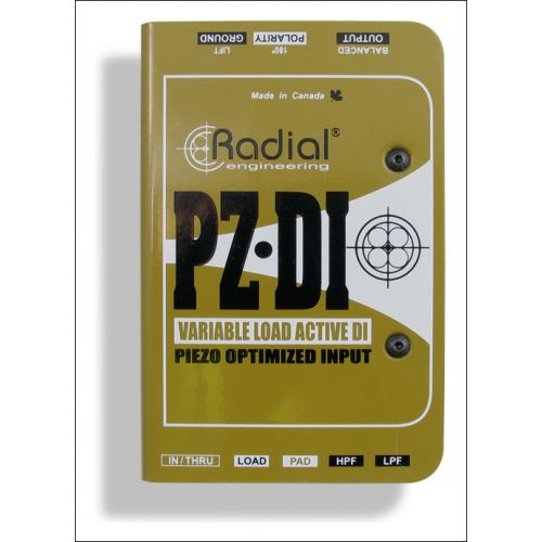 RADIAL PZ ACTIVE DI ORCHESTRAL INSTRUMENT