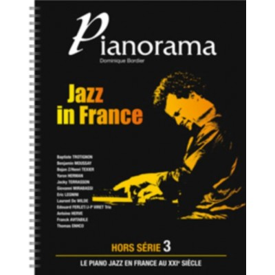 HIT DIFFUSION PIANORAMA HORS SERIE VOL. 3 - JAZZ IN FRANCE + CD