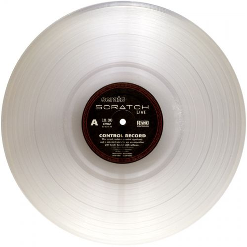 RANE TRANSPARENT TIME CODE VINYL