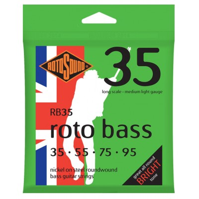 ROTOSOUND ROTO BASS MEDIUM LIGHT 35 55 75 95