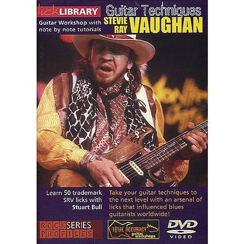 ROADROCK INTERNATIONAL LICK LIBRARY - STEVIE RAY VAUGHAN GUITAR TECHNIQUES [DVD] - GUITAR