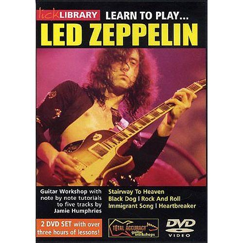 ROADROCK INTERNATIONAL LEARN TO PLAY LED ZEPPELIN [DVD] - GUITAR