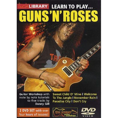 ROADROCK INTERNATIONAL LEARN TO PLAY GUNS 'N' ROSES [DVD] - GUITAR