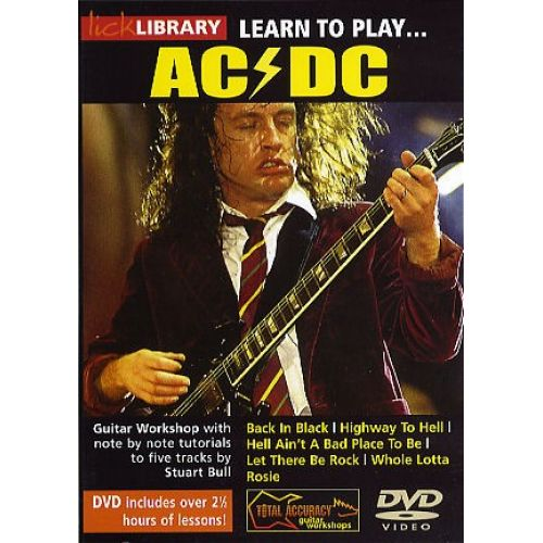 ROADROCK INTERNATIONAL LEARN TO PLAY AC/DC [DVD] - GUITAR