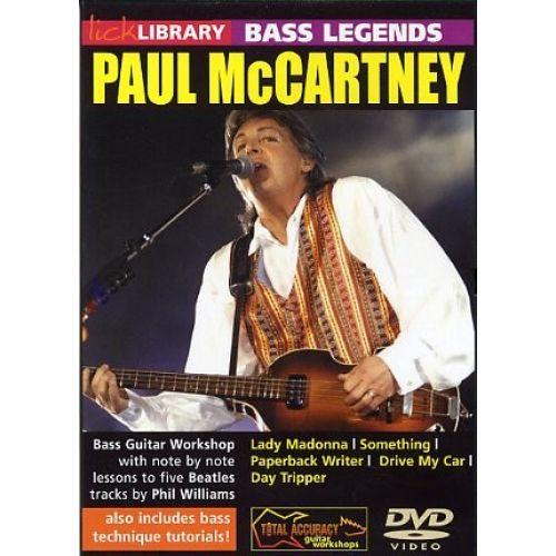 ROADROCK INTERNATIONAL BASS LEGENDS - PAUL MCCARTNEY [DVD] - BASS GUITAR
