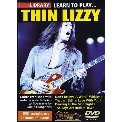 ROADROCK INTERNATIONAL LEARN TO PLAY THIN LIZZY [DVD] - GUITAR