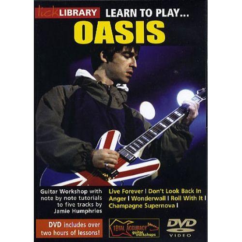 ROADROCK INTERNATIONAL LEARN TO PLAY OASIS [DVD] - GUITAR