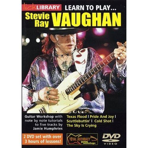 ROADROCK INTERNATIONAL LEARN TO PLAY STEVIE RAY VAUGHAN VOLUME 1 [DVD] - GUITAR