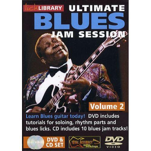 ROADROCK INTERNATIONAL ULTIMATE BLUES JAM SESSION VOLUME 2 [DVD] - GUITAR