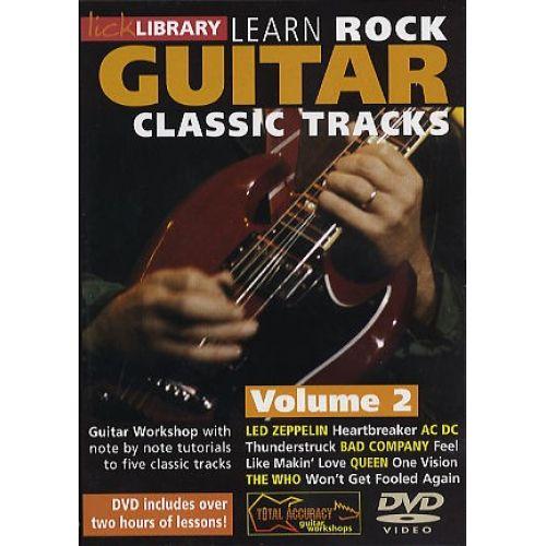 ROADROCK INTERNATIONAL LEARN ROCK GUITAR CLASSIC TRACKS VOLUME 2 [DVD] - GUITAR