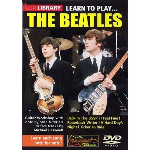 ROADROCK INTERNATIONAL LEARN TO PLAY THE BEATLES [DVD] - GUITAR