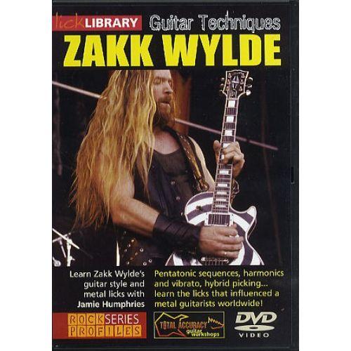 ROADROCK INTERNATIONAL ZAKK WYLDE GUITAR TECHNIQUES [DVD] - GUITAR
