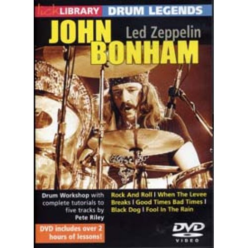 ROADROCK INTERNATIONAL LICK LIBRARY DRUM LEGENDS JOHN BONHAM (LED ZEPPELIN)