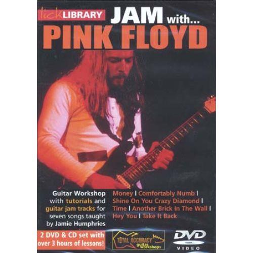 ROADROCK INTERNATIONAL LICK LIBRARY JAM WITH PINK FLOYD 2 DVD + CD - GUITAR