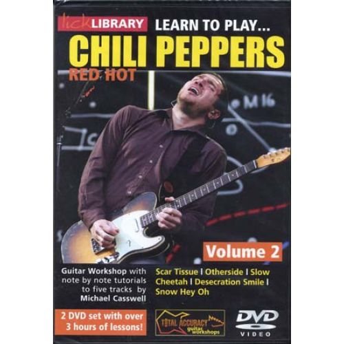 ROADROCK INTERNATIONAL LICK LIBRARY LEARN TO PLAY RED HOT CHILI PEPPERS VOL.2 (2 DVD)