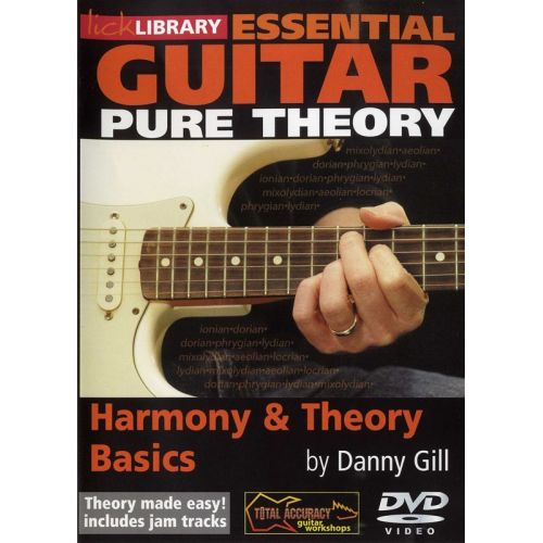ROADROCK INTERNATIONAL LICK LIBRARY - ESSENTIAL GUITAR - PURE THEORY - BASICS [DVD] [2008] - GUITAR