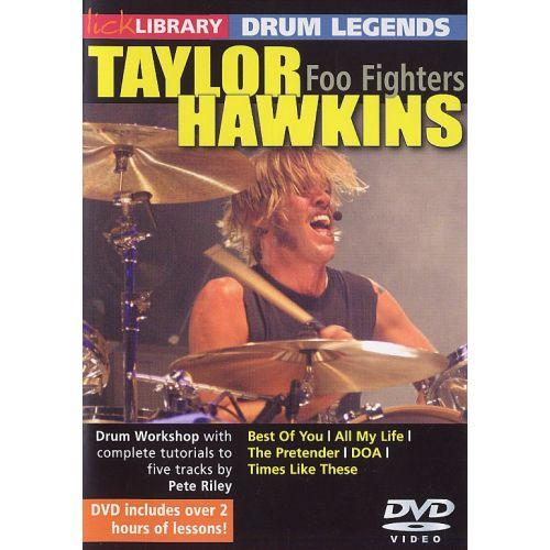 ROADROCK INTERNATIONAL LICK LIBRARY - DRUM LEGENDS - TAYLOR HAWKINS [DVD] - DRUMS