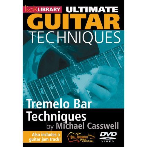 ROADROCK INTERNATIONAL LICK LIBRARY - ULTIMATE GUITAR TECHNIQUES - TREMELO BAR TECHNIQUES [DVD] [2009] - GUITAR