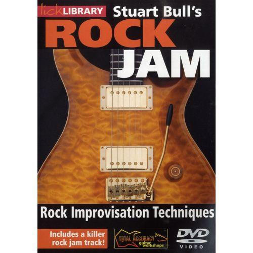 ROADROCK INTERNATIONAL LICK LIBRARY - STUART BULL'S ROCK JAM - ROCK IMPROVISATION TECHNIQUES [DVD] [2009] - GUITAR