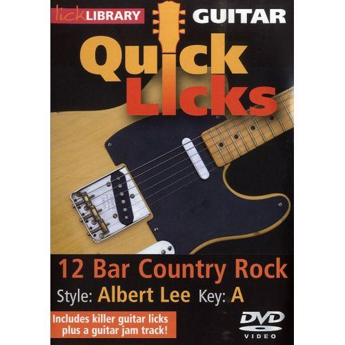 ROADROCK INTERNATIONAL LICK LIBRARY - QUICK LICKS - ALBERT LEE 12 BAR COUNTRY ROCK [DVD] [2009] - GUITAR