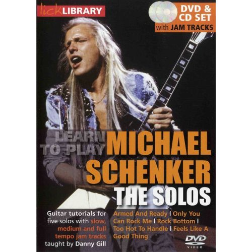 ROADROCK INTERNATIONAL LICK LIBRARY LEARN TO PLAY MICHAEL SCHEN - GUITAR