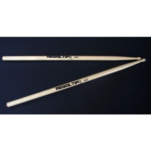 REGAL TIP HICKORY JAZZ DRUMSTICKS