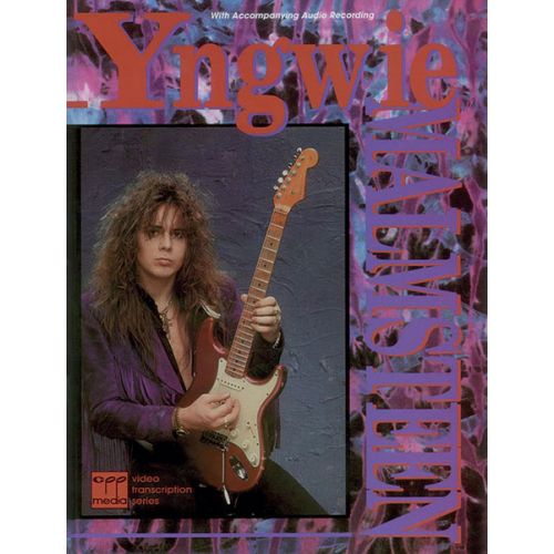 ALFRED PUBLISHING MALMSTEEN YNGWIE - YNGWIE MALMSTEEN + CD- GUITAR