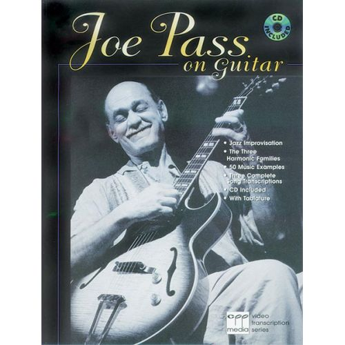 ALFRED PUBLISHING PASS JOE - ON GUITAR + CD - GUITAR