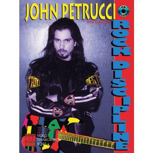 ALFRED PUBLISHING PETRUCCI JOHN - ROCK DISCIPLINE + CD - GUITAR