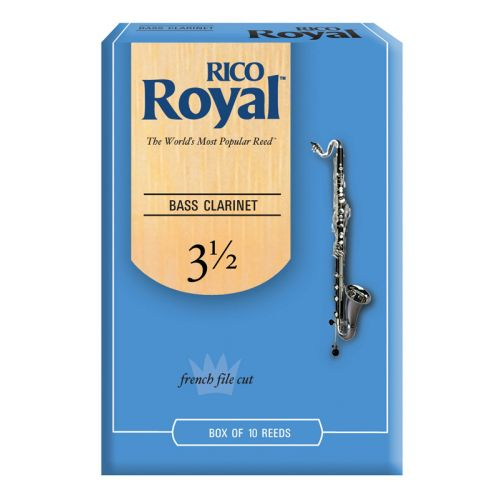 D'ADDARIO - RICO ROYAL BASS CLARINET REEDS 3.5