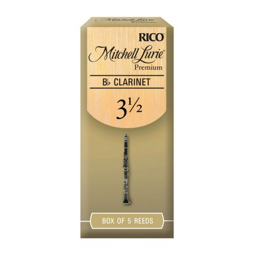 D'ADDARIO - RICO RICO MITCHELL LURIE BB CLARINET REEDS 3.5