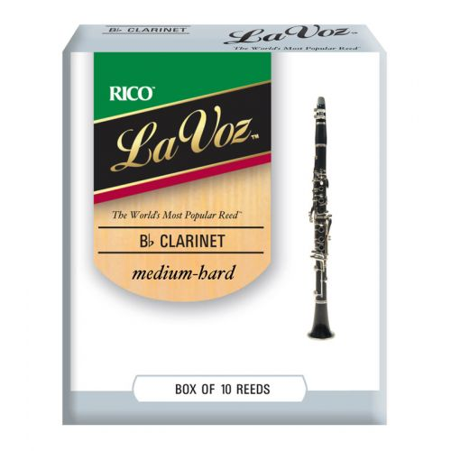 D'ADDARIO - RICO RICO LA VOZ BB CLARINET REEDS MEDIUM HARD